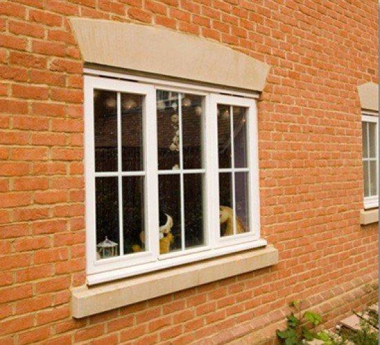 Single stone window sill