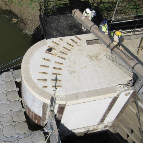 Canal Lock Coping