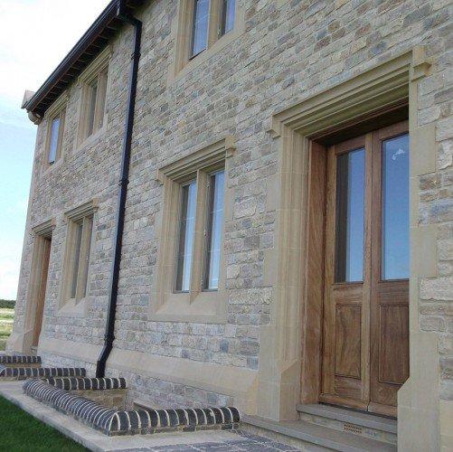 cast stone door surround
