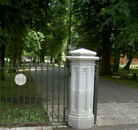 Gate Post For Park Entrance