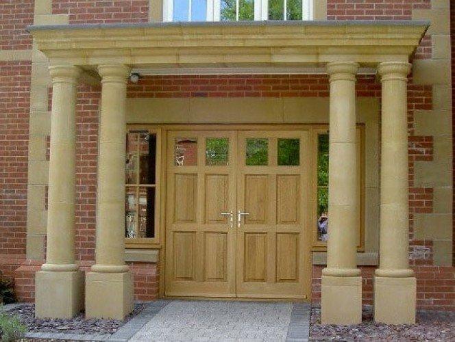 Balustrading porticos