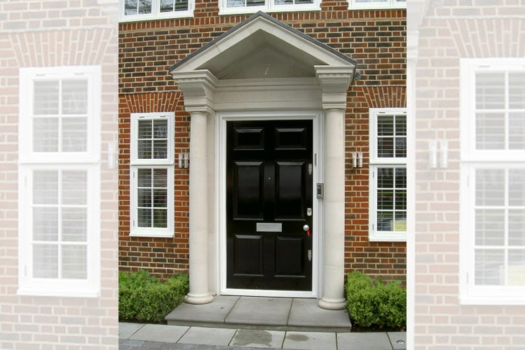 cast stone door porticos
