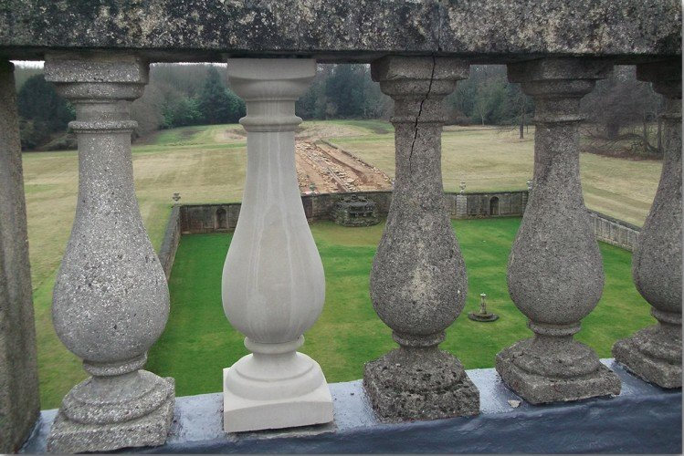 cast stone Balustrade