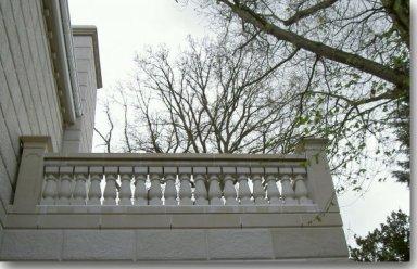 full cast stone Balustrade