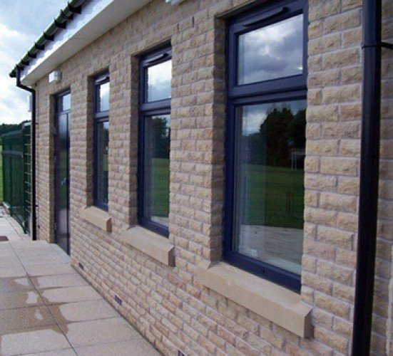 Office stone window sills