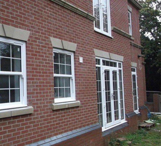 Stone Window & Door Mullions