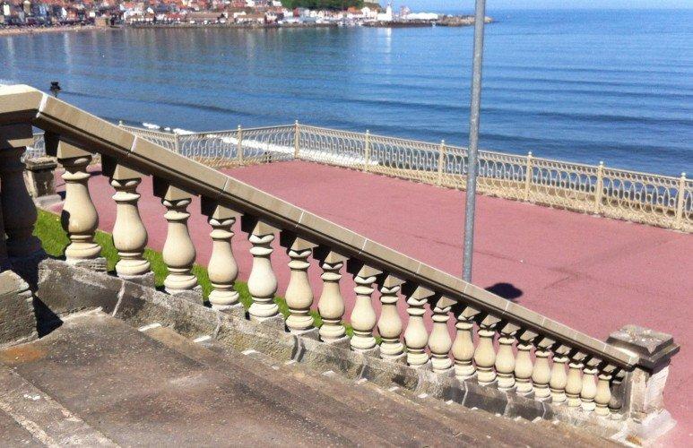 cast stone Balustrades for steps