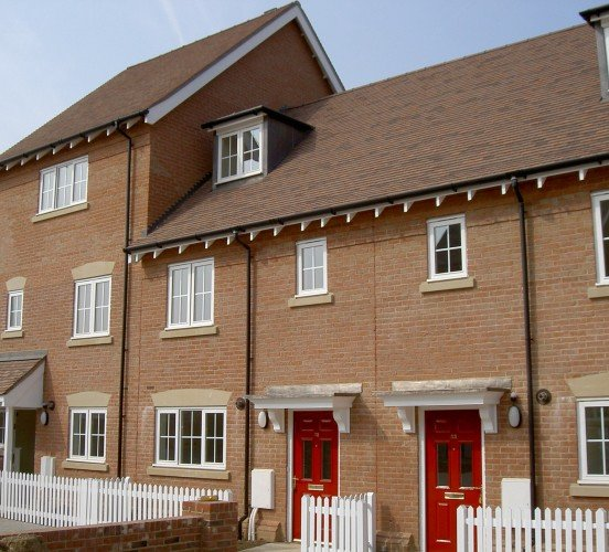 Estate House Stone Door & Window Mullions
